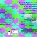 """Curso """"Aplicaciones Prácticas de Elementos Terapéuticos de ACT y Mindfulness: Metáforas y Ejercicios Experienciales"""""""
