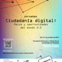 """Jornadas """"Ciudadanía Digital: Retos y Oportunidades del Mundo 2.0″"""