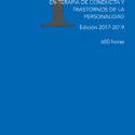 Curso de Especialización en Terapia de Conducta y Trastornos de la Personalidad