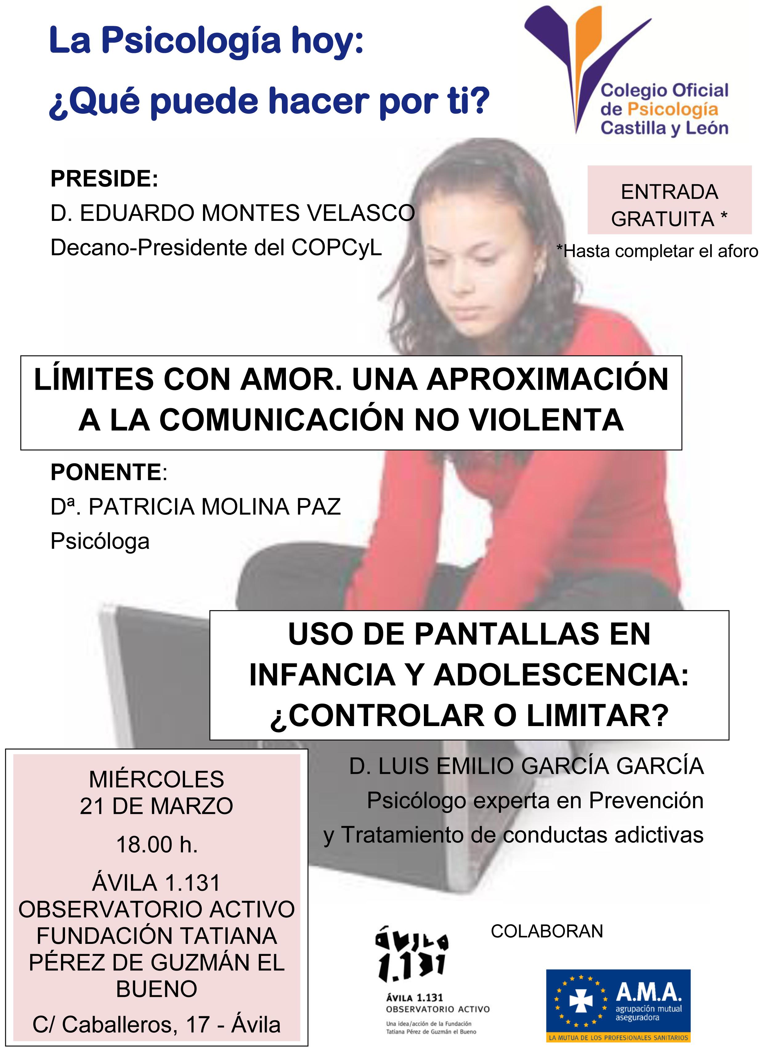La Psicología hoy: ¿Qué puede hacer por ti? – Ávila