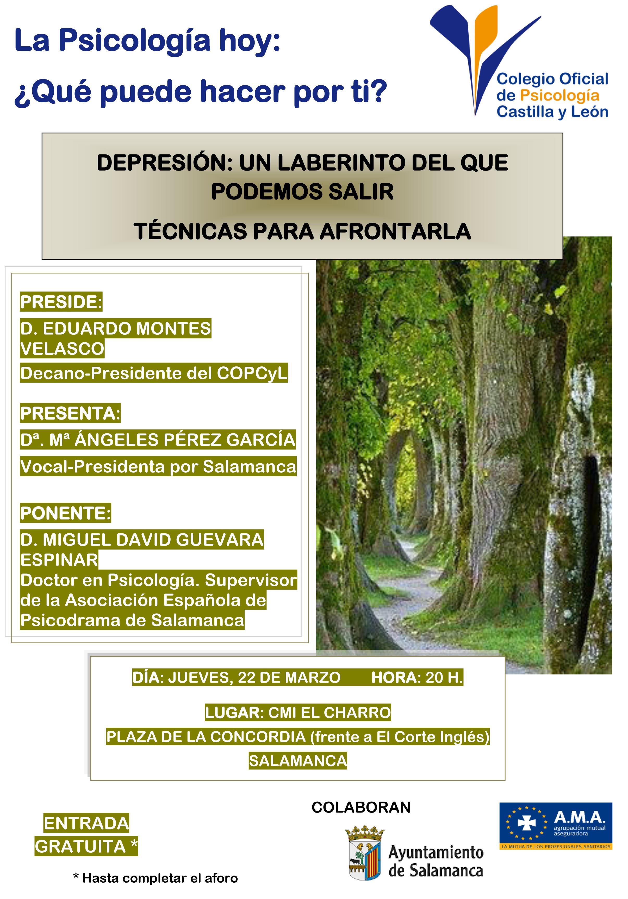 La Psicología hoy: ¿Qué puede hacer por ti? – Salamanca