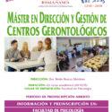 Máster en Dirección y Gestión de Centros Gerontológicos