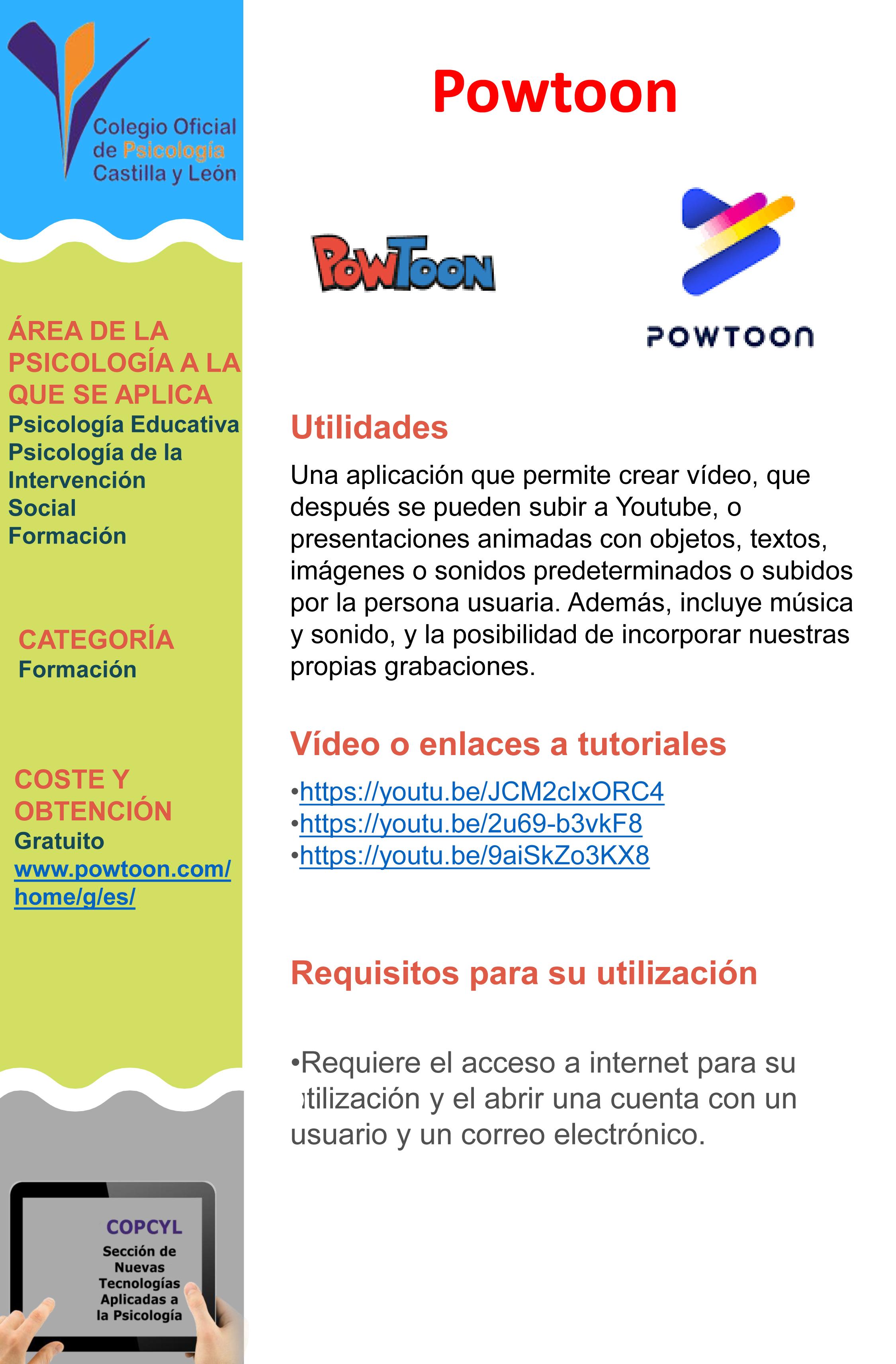 Ficha Powtoon