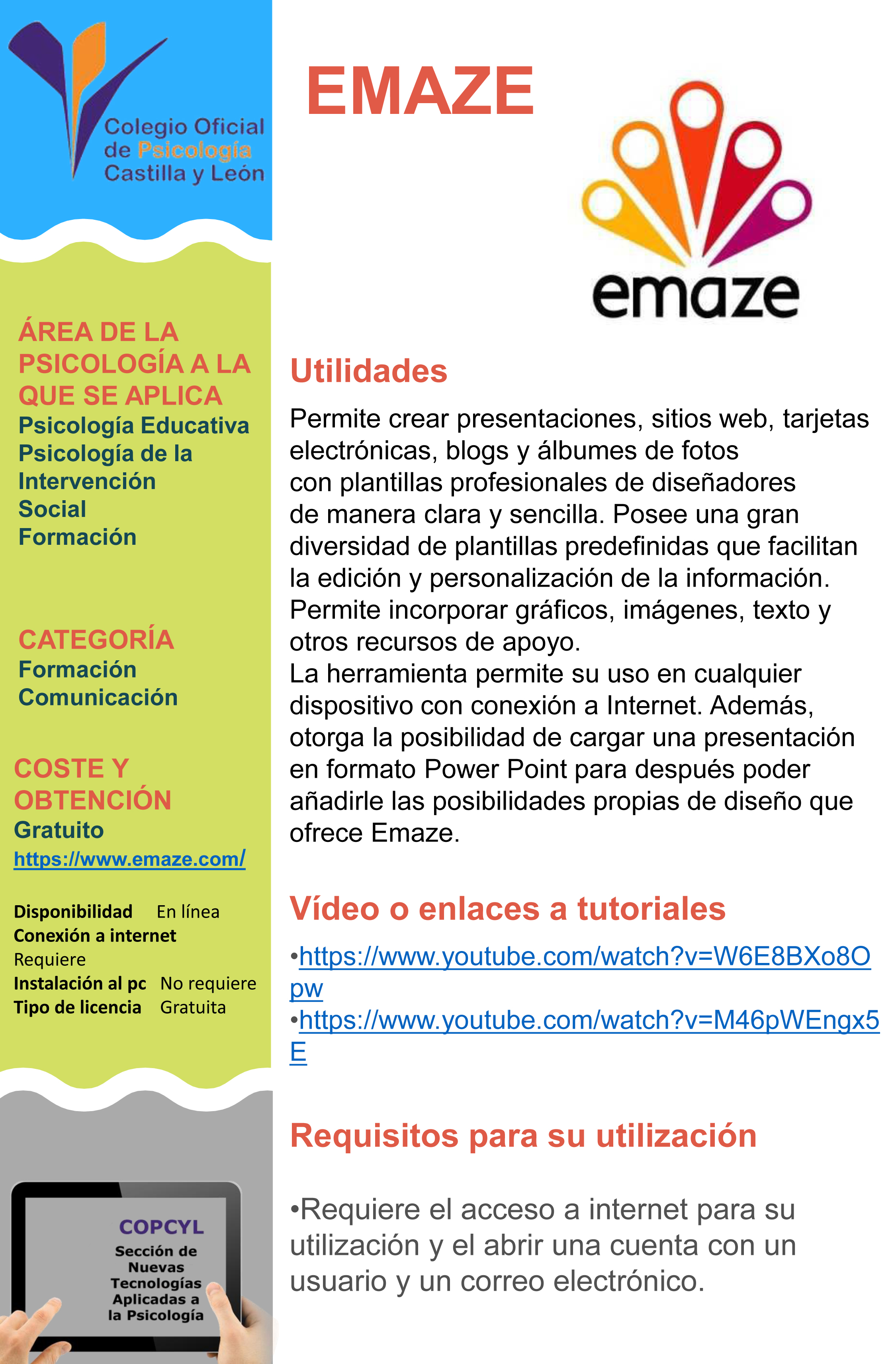 Ficha Emaze