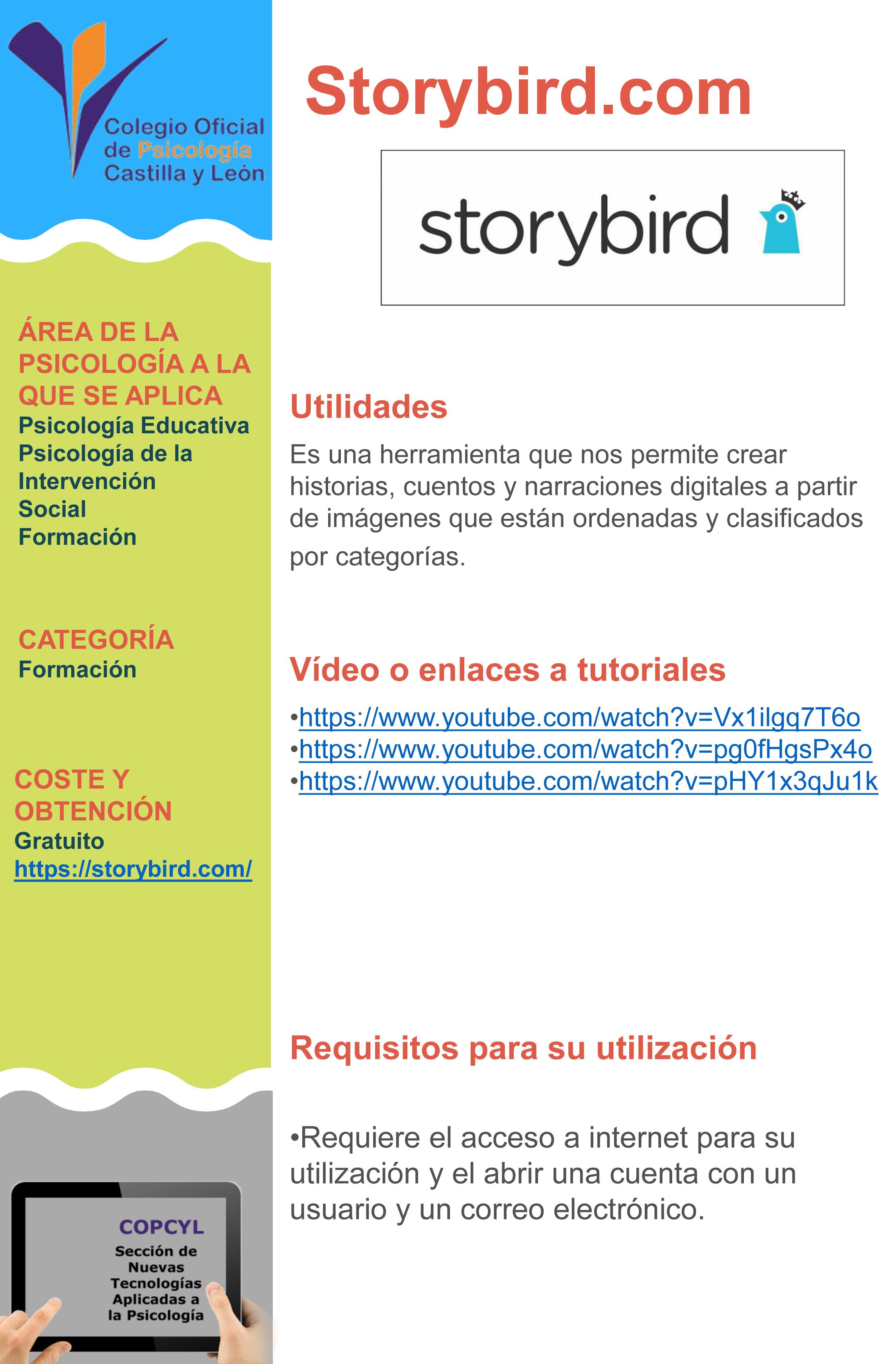 Ficha StoryBird